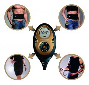 Das System lässt sich für die einzelnen Körperpartien erweitern.