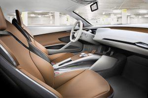 Der Audi e-tron von Innen