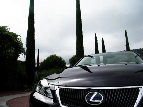Mit dem Lexus-Cabrio an der Côte d'Azur 8