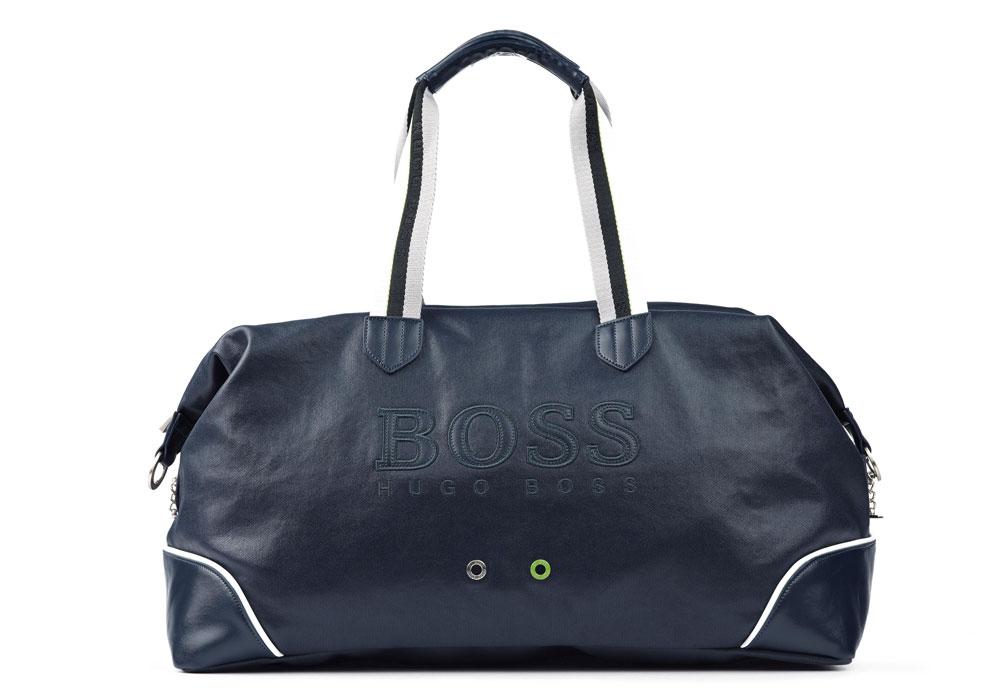 Trägt sich in doppelter Hinsicht gut. Tasche von Hugo Boss Green.