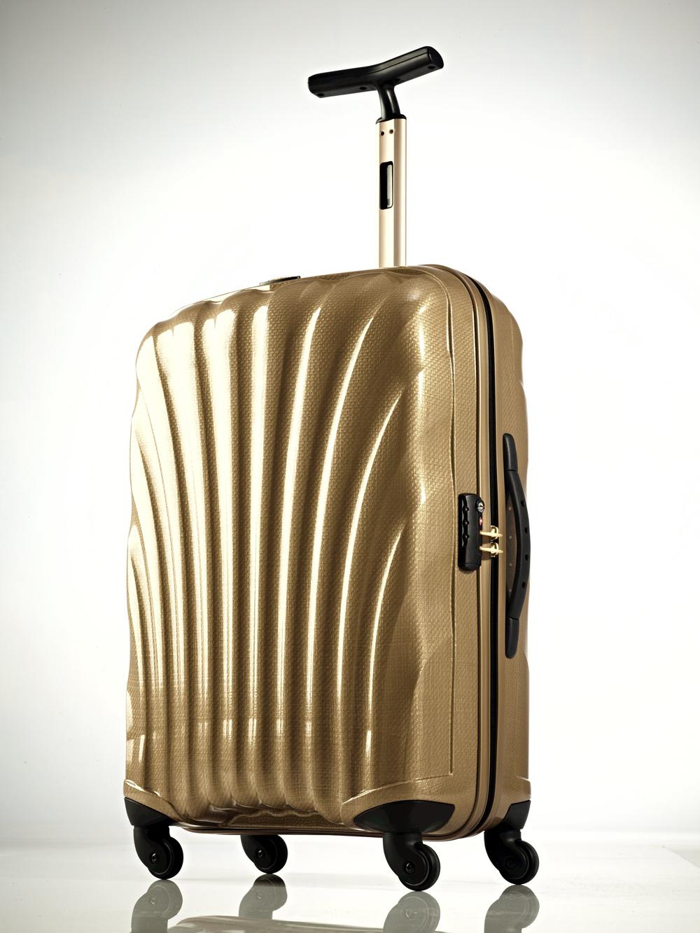 Cubelite: der leicht, goldene Hartschalenkoffer von Samsonite 2