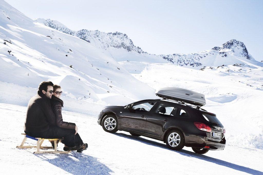 Gut vorbereitet in den Winter, wie hier iit einem Chevrolet.