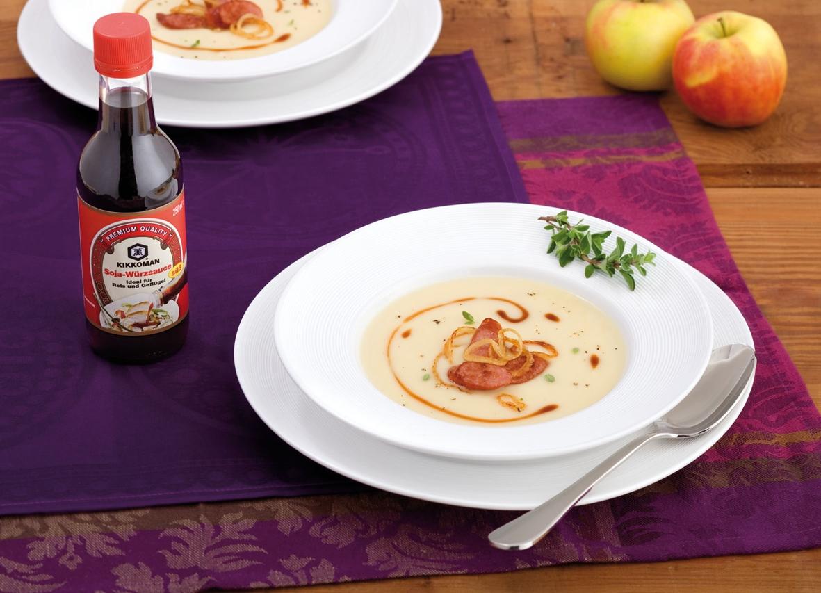 Rezept für Pastinaken-Apfelsuppe 3