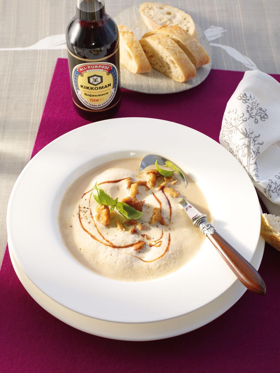 Kartoffel-Pfifferling-Cremesuppe 3