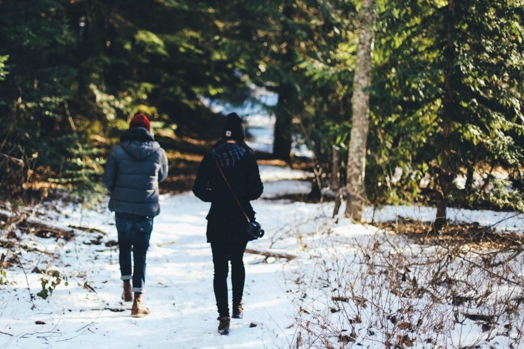 Casual Dating: Kennenlernen beim Spazierengehen