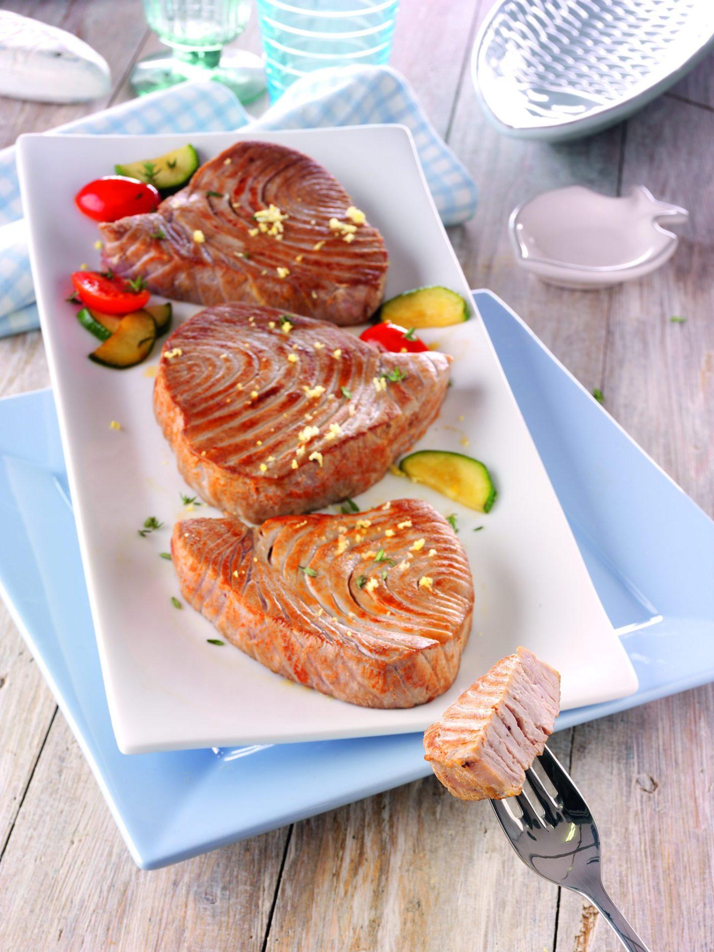 Rezept: Thunfisch gegrillt 6