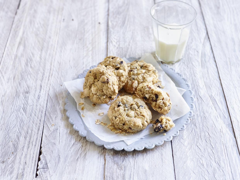 Weihnachtliche Haferflocken Kekse 2