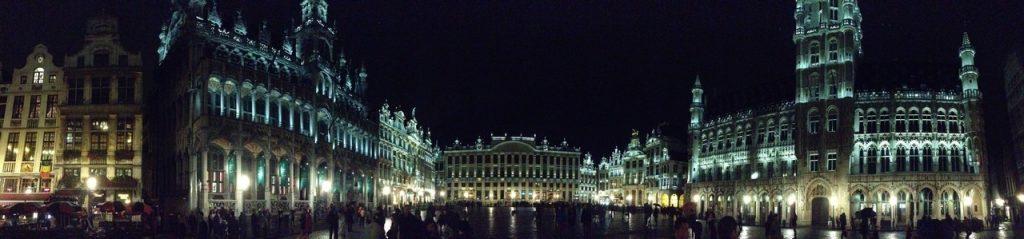 Der Marktplatz in Brüssel.