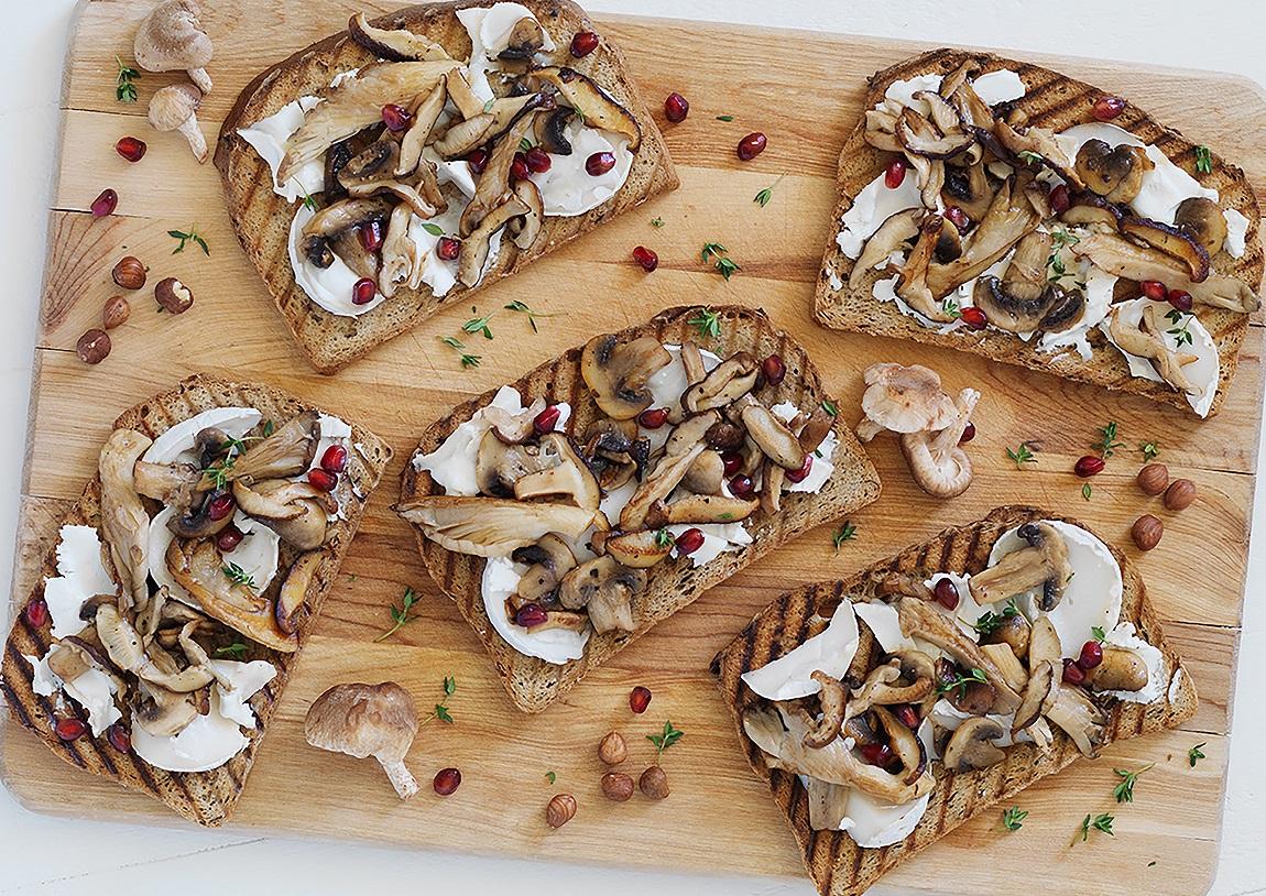 Das Superfood-Sandwich, hier mit glutenfreiem Mehrkornbrot von Genius.