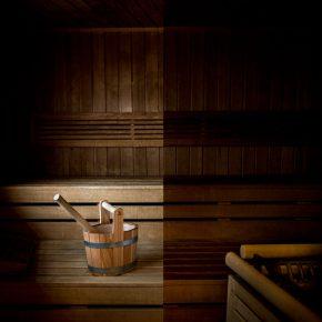 Sommer Sauna