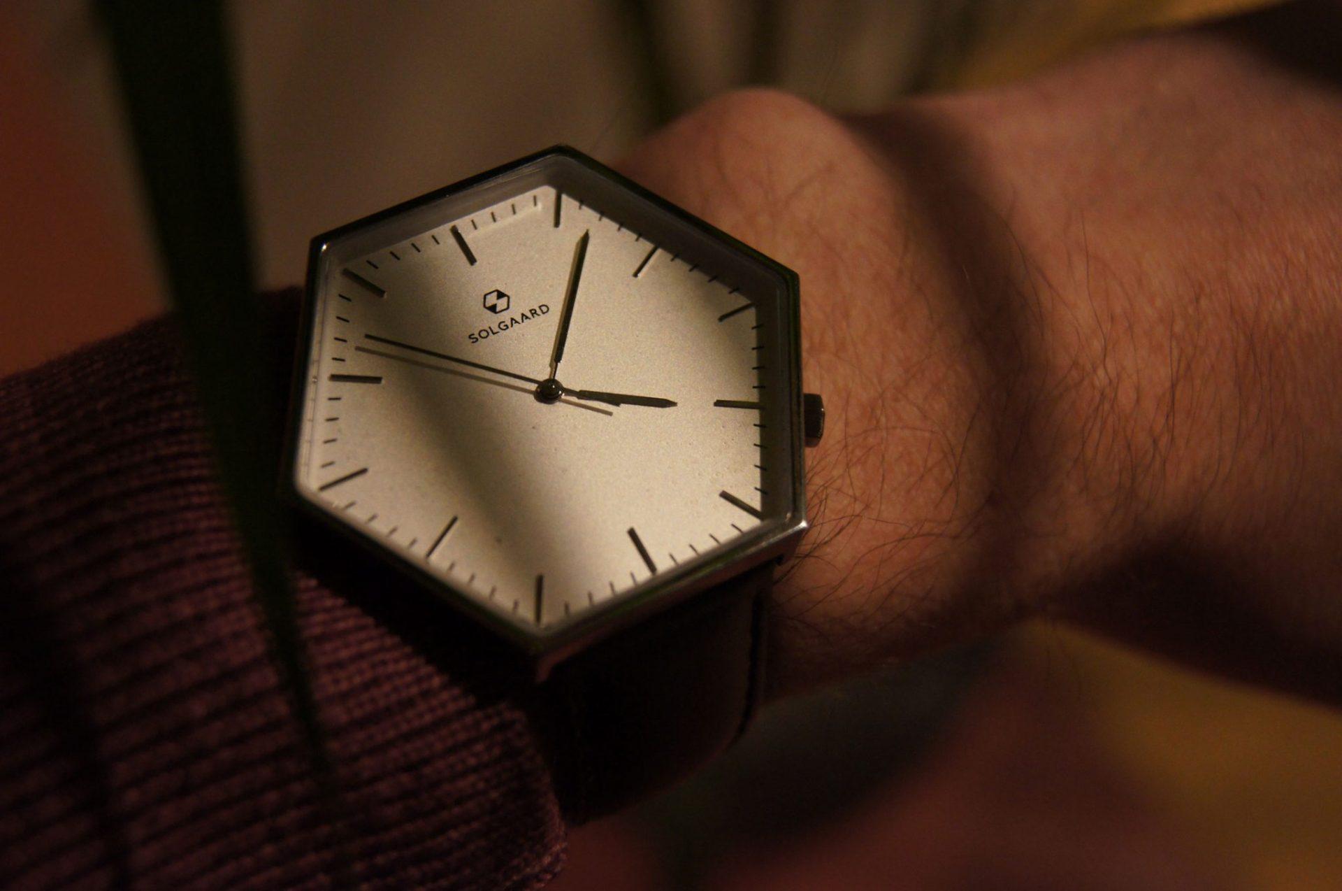 """Die Smart-Tech-Uhr """"Hex"""" von Solgaard 3"""
