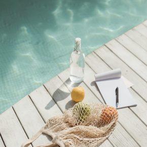 Früchte und Wasser-Fasten