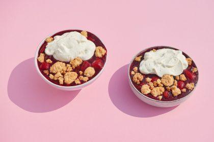 Rezept: Frucht-Crumble mit Joghurt 7