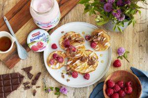 Rezept: Himbeer-Joghurt Pan Cakes 2