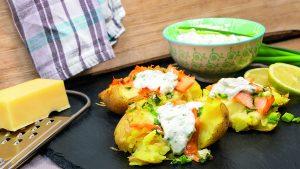 Rezept: Quetschkartoffeln mit Lachs 1