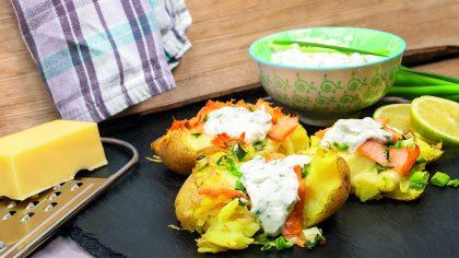 Rezept: Quetschkartoffeln mit Lachs 4