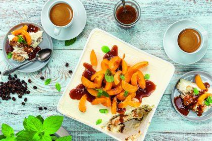 Rezept: Aprikosen-Tiramisu mit Kaffee-Salz-Karamell 4